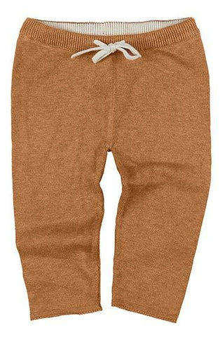 Toshi- Organic Knitted Leggings Wander - Pecan - August Lane