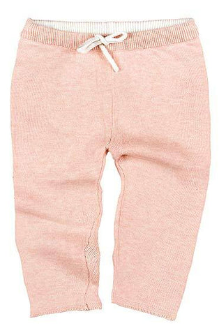 Toshi- Organic Knitted Leggings Wander - Peony - August Lane