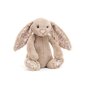 Jellycat - Blossom Bashful Bea Beige Bunny - Small - August Lane