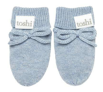 Toshi - Organic Mittens Marley - Tide - August Lane