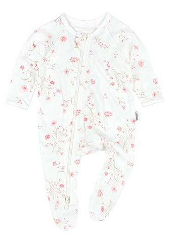 Toshi - Long Sleeve Onesie - Clara - August Lane