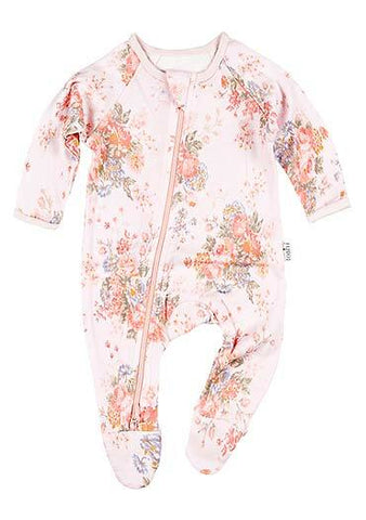 Toshi - Long Sleeve Onesie - Louisa - August Lane