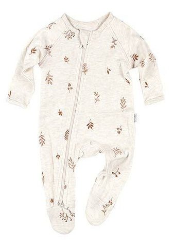 Toshi - Long Sleeve Onesie - Maple - August Lane