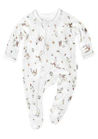 Toshi - Long Sleeve Onesie - Woodlands - August Lane