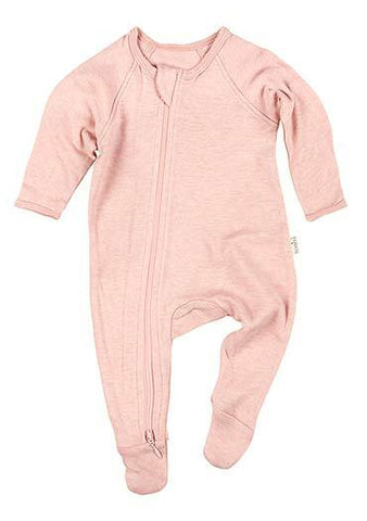 Toshi - Onesie Long Sleeve Dreamtime - Peony - August Lane
