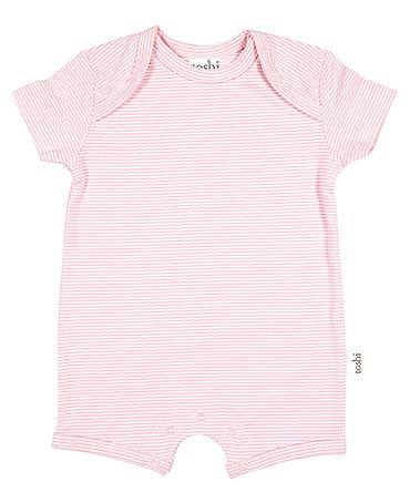 Toshi - Sleepytime Onesie Short Sleeve - Blush