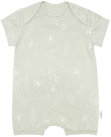 Toshi- Onesie Short Sleeve- Dandelion - August Lane