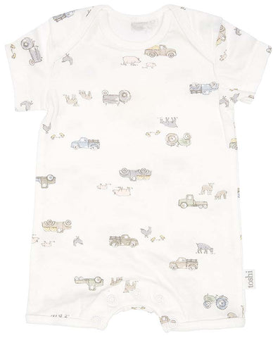 Toshi- Onesie Short Sleeve- Farmer Joes - August Lane