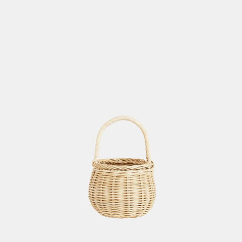 Olli Ella - Rattan Berry Basket - Straw - August Lane