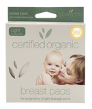 Natures Child - Organic Cotton Reusable Breast Pads (Pack of 6) - August Lane