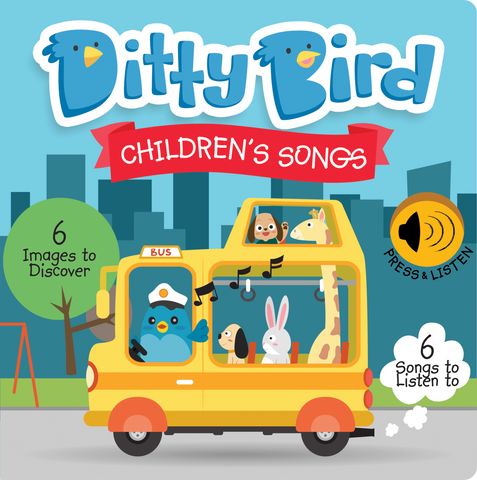 Ditty Bird - Childrens Songs - August Lane