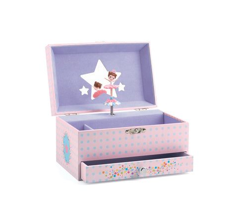 Djeco - Ballerina Musical Jewellery Box - August Lane