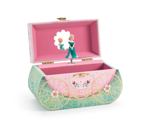 Djeco - Carriage Ride Musical Jewellery Box - August Lane