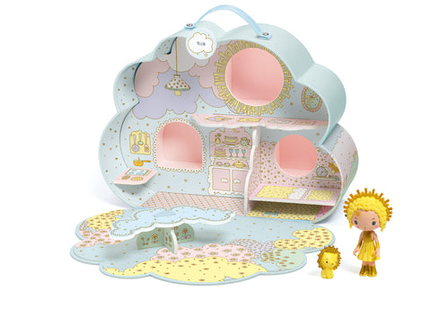 Djeco - Sunny & Mia Tinyly Doll House - August Lane