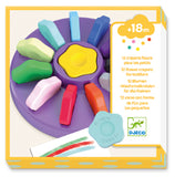Djeco - Toddler Flower Crayons - 12Pack - August Lane