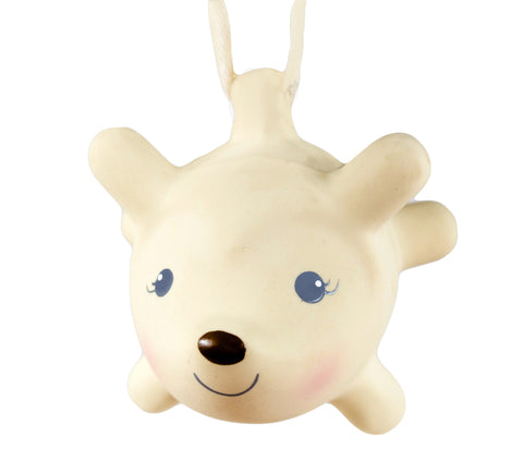 Tikiri - Ethan the Hedgehod Rubber Rattle - August Lane