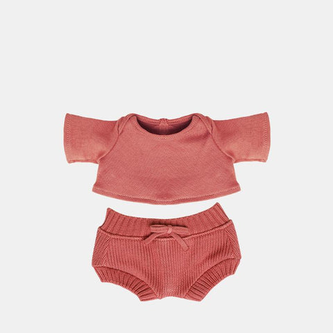 Olli Ella - Dinkum Doll Clothing - Snuggly Set Berry