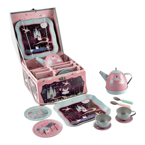 Floss & Rock - Musical Tea Set in Case - August Lane