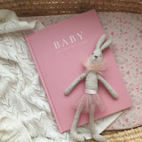 Write To Me - Baby Book/ Journal Pink (Limited Edition) - Birth to Five Years - August Lane