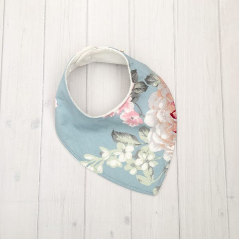 Grubbee - Dribble Bib - Katie Floral - August Lane