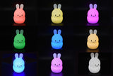 Kaper Kidz - Bed Time Buddy Night Light - Bunny - August Lane