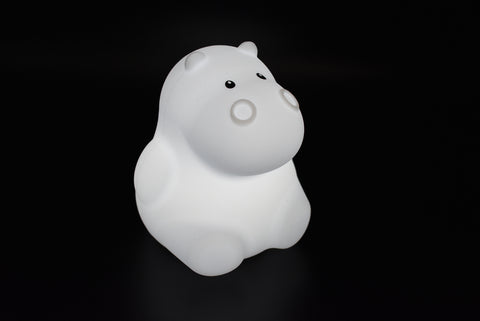 Kaper Kidz - Bed Time Buddy Night Light - Hippo