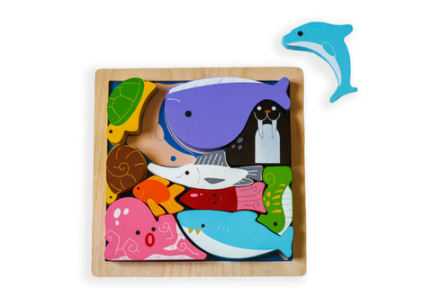 Kiddie Connect - Sea Creatures Puzzle