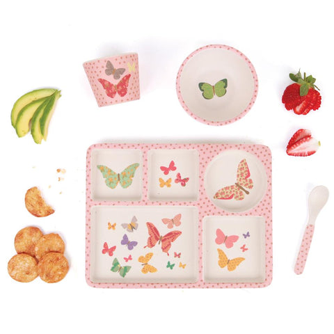 Love Mae - Divided Plate Set - Butterflies
