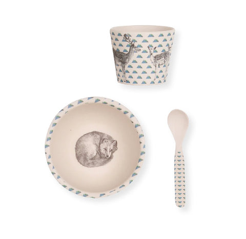 Love Mae - Baby Feeding Set - Fox