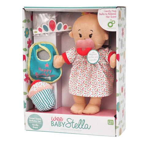 Manhattan Toys - Wee Baby Stella - Sweet Scents Happy Birthday