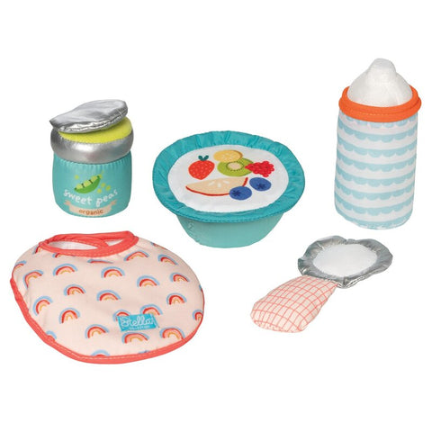 Manhattan Toys - Stella Dolls Feeding Set - August Lane