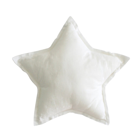 Alimrose - Linen Star Pillow 40cm - Various Colours - August Lane