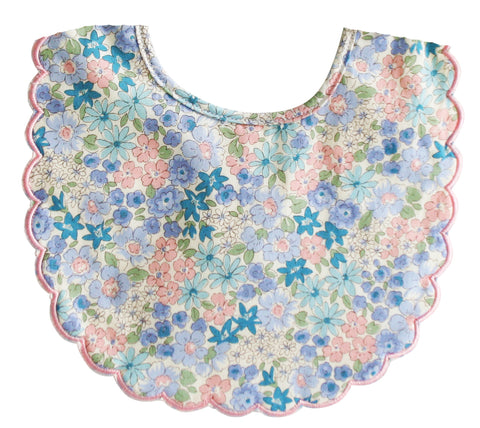 Alimrose - Scalloped Bib - Liberty Blue - August Lane