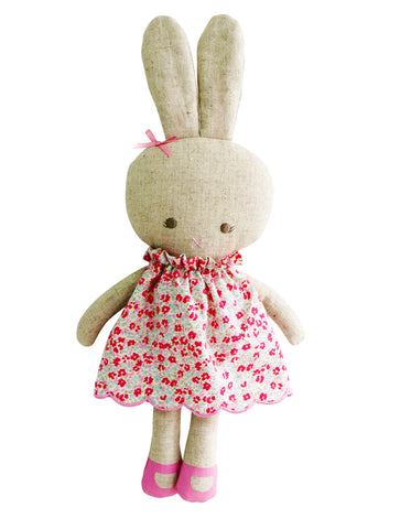 Alimrose - Linen Hannah Bunny - Sweet Floral