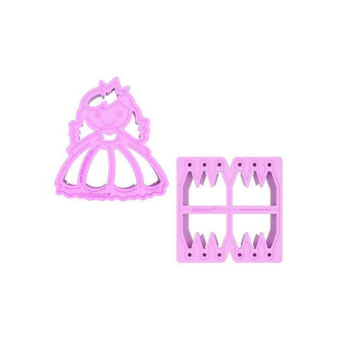Montiico - Lunch Punch Sandwich Cutters - Princess - August Lane