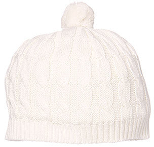 Toshi - Organic Cotton Marley Beanie - Cream - August Lane