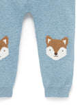 Purebaby - Fox Knit Legging - August Lane