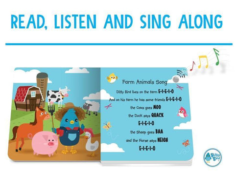 Ditty Bird - Farm Animal Sounds Book