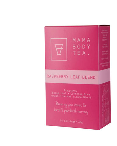 Mama Body Tea - Raspberry Leaf Tea - August Lane