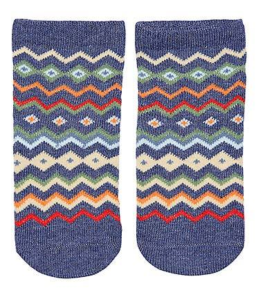 Toshi - Organic Cotton Baby Socks - Midnight - August Lane