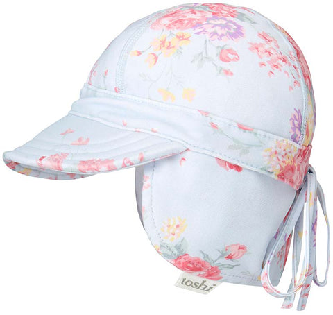 Toshi - Swim Flap Cap- Celeste - August Lane