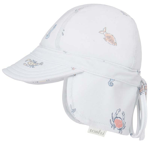 Toshi - Swim Flap Cap - Rockpool - August Lane
