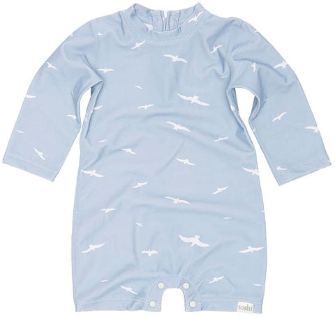 Toshi - Swim Onesie Long Sleeve - Bondi Beach - August Lane