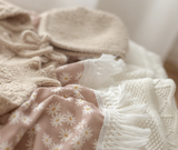 Ziggy Lou - Mini Daisy Swaddle With Natural Fringe- Standard - August Lane
