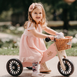 Kinderfeets - Tiny Tot Plus 2 in 1 Trike - Rose - August Lane