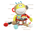 Dolce Toys - Play & Learn Monkey - August Lane