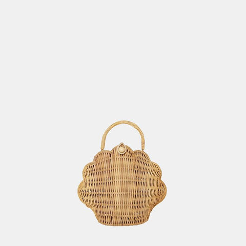 Olli Ella - Shell Bag - Straw - August Lane