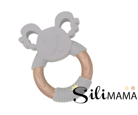 Silimama - Koala Teether - Grey
