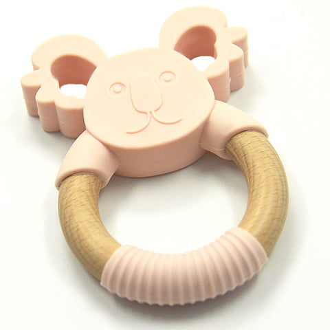 Silimama - Koala Teether - Blush - August Lane