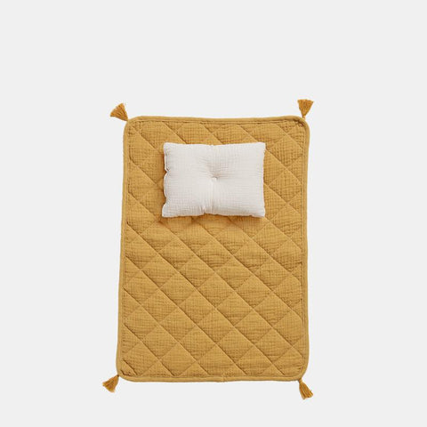 Olli Ella - Strolley Bedding Set - Mustard - August Lane